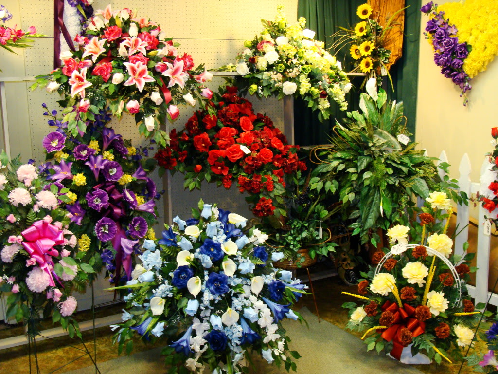 Colonial Flowers Russellville Arkansas Silk and Funeral Arrangements